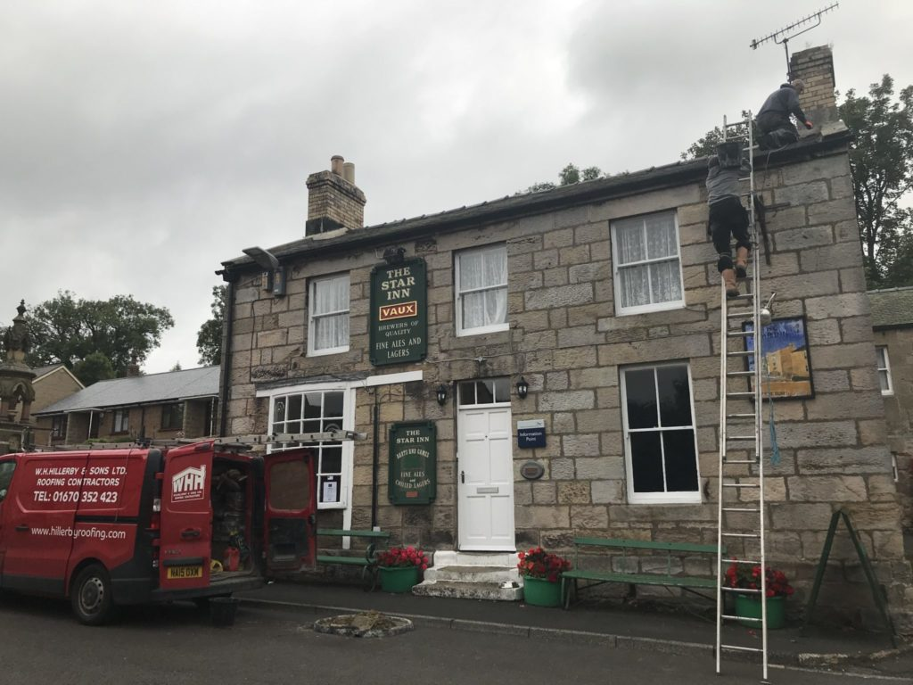 Dog friendly country pub in Northumberland - Harbottle - Harbottle Village - Northumberland National Park