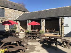The Star Inn, Harbottle, Covid re-opening