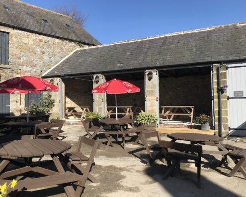 The Star Inn, Harbottle, Covid re-opening