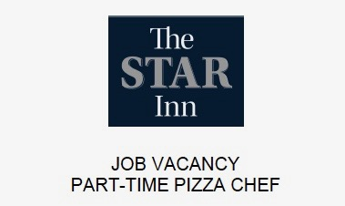 Pizza Chef job vacancy at The Star Inn, Harbottle, Northumberland