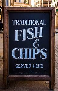Fish and Chips at The Star Inn in Harbottle near Rothbury in Northumberland